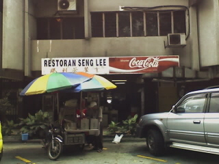 Located in front of Restoran Seng Lee