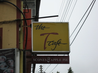 The T-Cafe Signboard