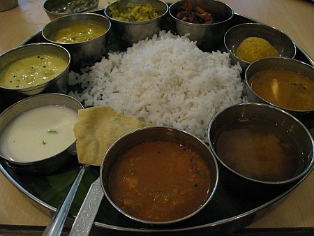 Woodlands Special Thali